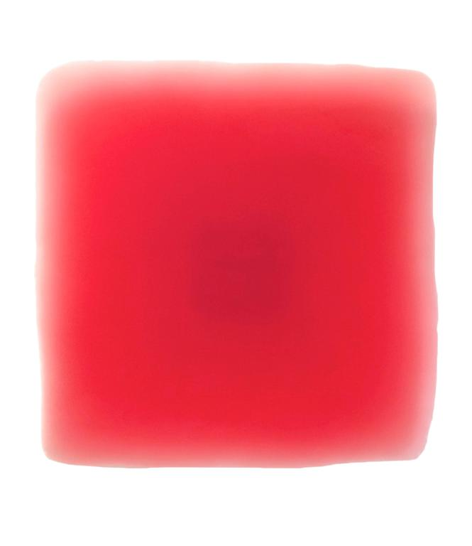 Peter Alexander Abstract Painting - 4/20/14 (Red Puff)