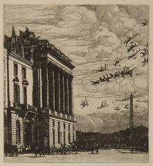 Le Ministere de la Marine (The Admiralty, Paris)