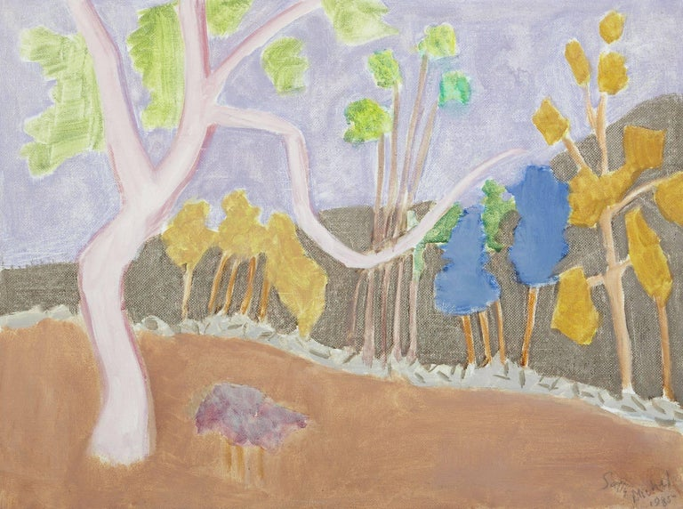 Sally Michel-Avery Landscape Painting - Various Trees