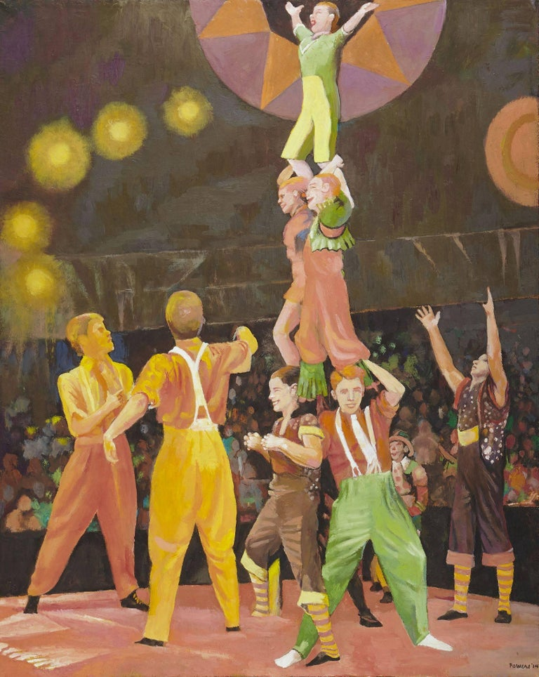 Anne Lyman Powers Figurative Painting - The Circus