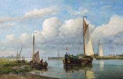 Sailing boats on the water