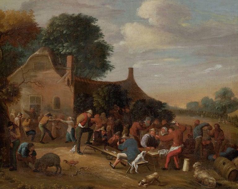 The tavern scene