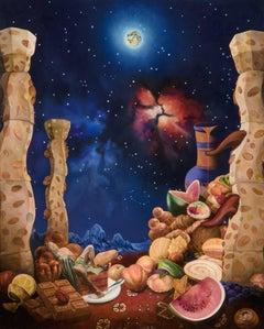 Testing of Saint Anthony: Gluttony