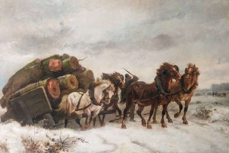 Animals Pulling Wagon : Moved permanently