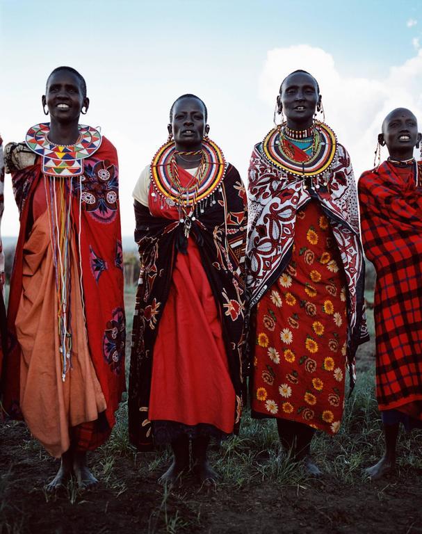 Anne Menke Portrait Photograph - 4 Maasai