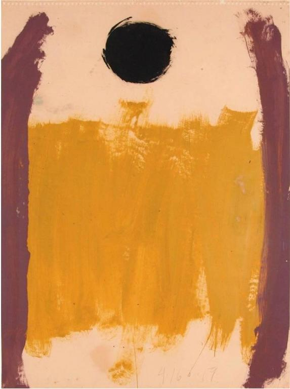 Walter Darby Bannard Abstract Painting - Untitled