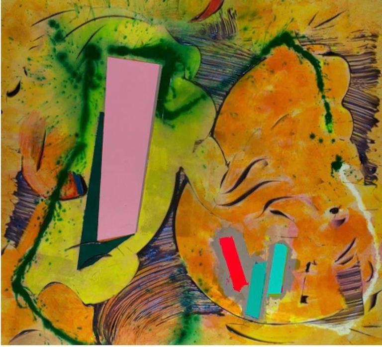 Walter Darby Bannard Abstract Painting - Heist (15-25B)
