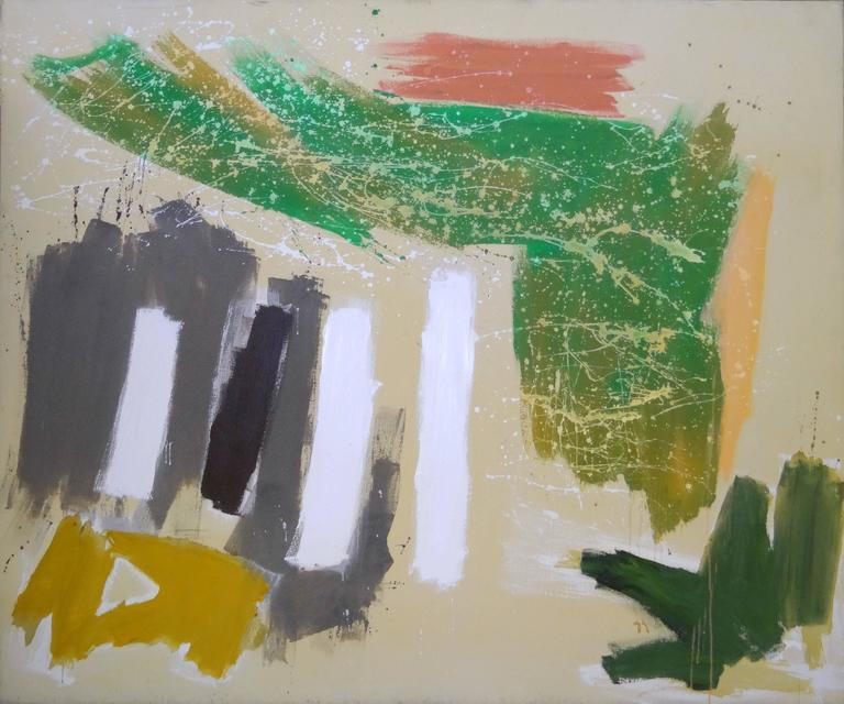 Ann Purcell Abstract Painting - Sassy #2