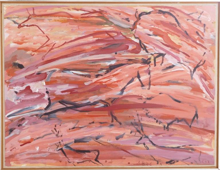 Elaine de Kooning - Southwest Landscape #5, Painting at 1stdibs