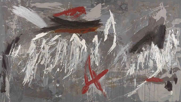 Ann Purcell Abstract Painting - Kali Poem #67