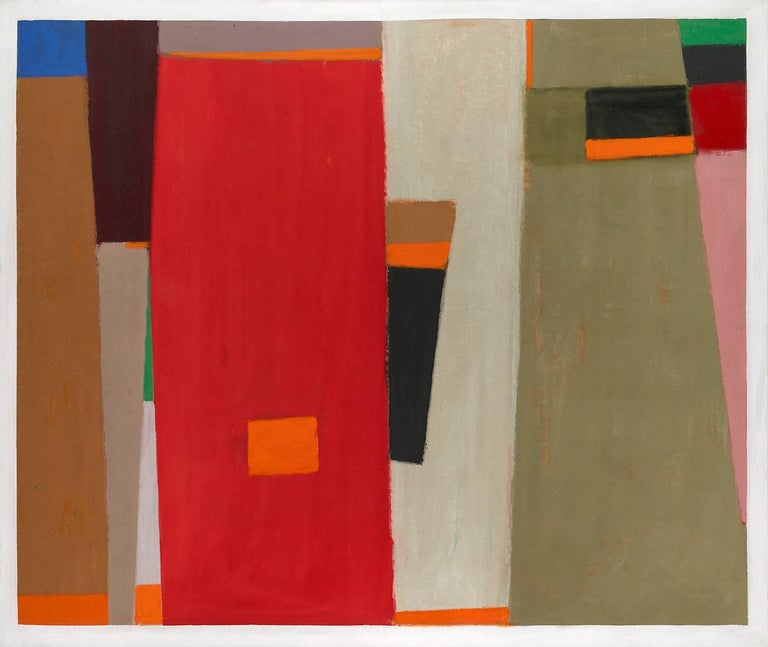 John Opper Abstract Painting - Untitled