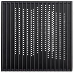 Untitled (Black and White with Grid) (77-78)