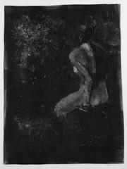 Nude and Vase in the Dark