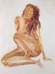Sitting Nude