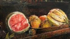 Melon + Fruit in a Line