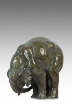Ball Elephant Bronze by Sophie Martin