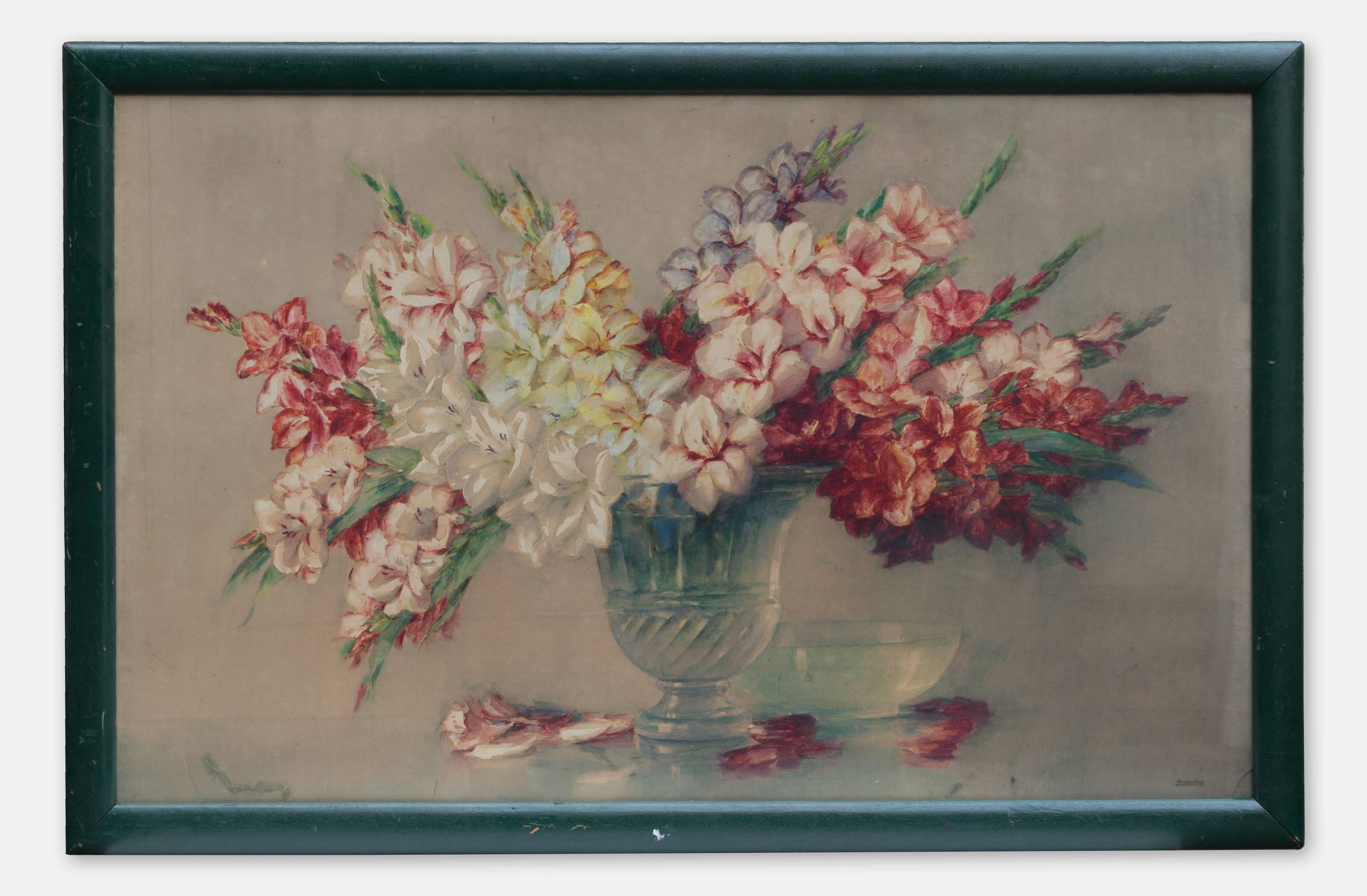 Still Life with Flowers by Isidor Rosenstock