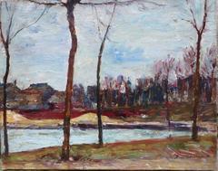 River Seine Banks by René THOMSEN