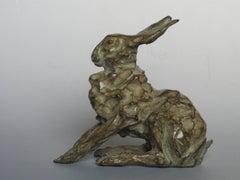 Hare Bronze Sculpture