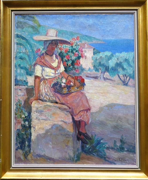 Portrait of a Provence Woman