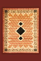 HUGO - handmade wool rug creation