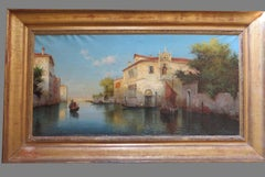 Alphonse LECOZE 19th-20th Century - Venice Grand Canal
