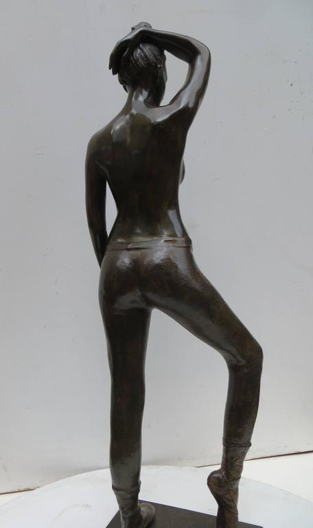Poiting Dancer by Patrick Brun For Sale 3
