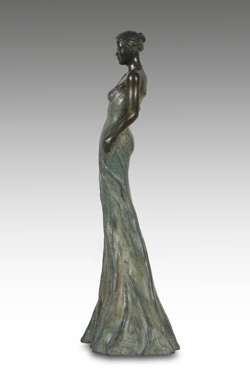 Sabine Bronze by Patrick Brun For Sale 1