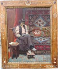 Orientalist Interior by Henri CHARRY