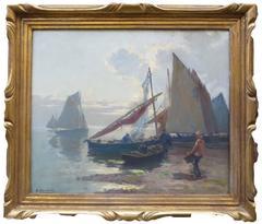 Marine Bretonne by Henri Barnoin