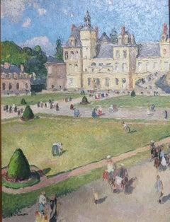 Fontainebleau Castle, by Gaston Balande