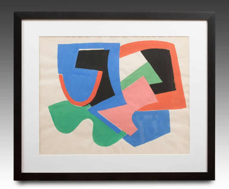 JOSIF ILIU Abstract Drawing - Abstract Composition