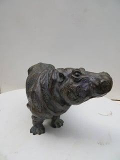 Bronze Hippopotame