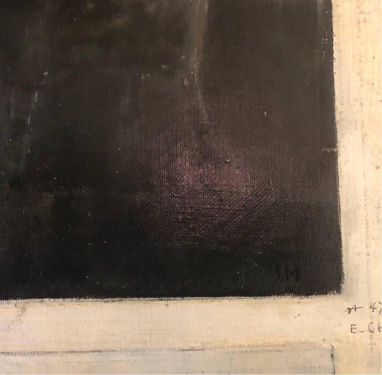 """Serafino Macchiati (1861-1916) Two illustrations on canvas for """"Le Moulin de Nazareth"""" by writer Maurice Prevost at """"Editions Fayard"""" 1908 Oil on canvas 55 x 38 Monogrammed on one of the picture  Serafino Macchiati (Camerino, Macerata, 1861 –"""
