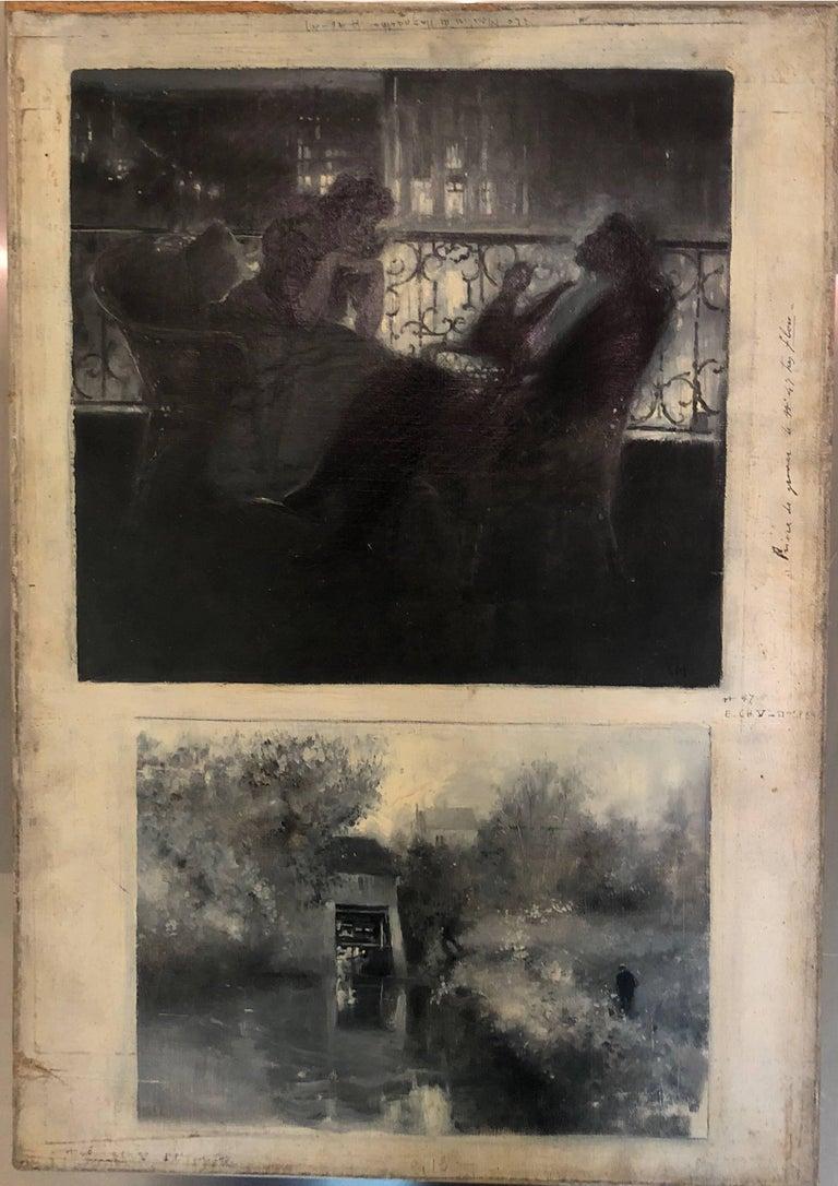Serafino Macchiati Portrait Painting - Le Moulin de Nazareth