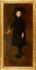 Portrait of Sophia painted by John da Costa, signed. Never on sale before!