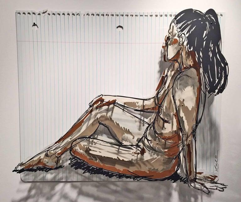 Michael Kalish Figurative Sculpture - Astrid