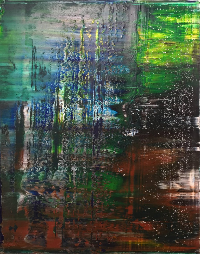 Harry Moody Abstract Painting - Abstract Unedited #116