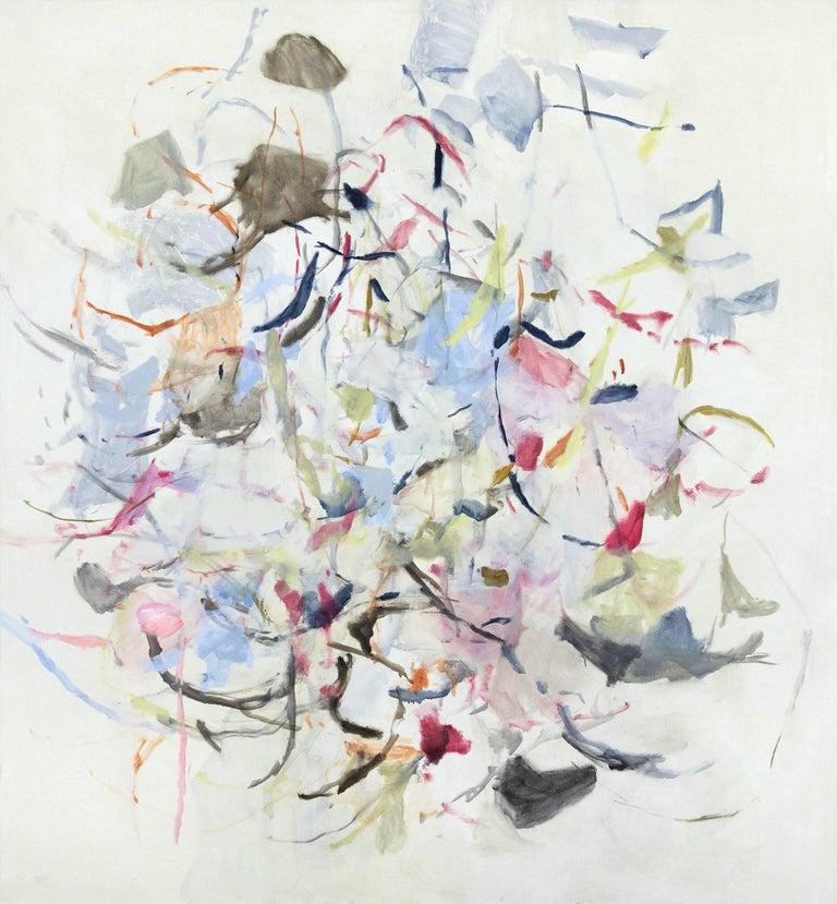 Karl Pilato Abstract Painting - Churn