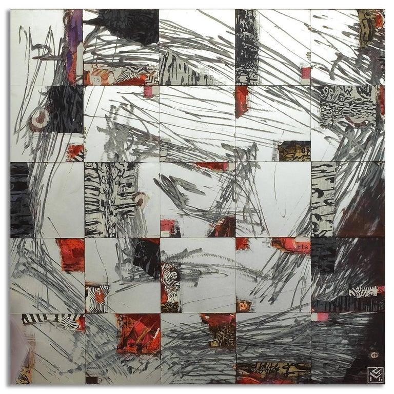 Beyond II - Mixed Media Art by Claudia Meyer