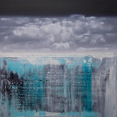 abstract with icebergs #322