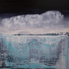 abstract with icebergs #323