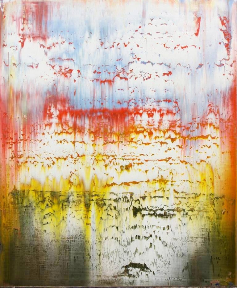 Harry Moody Abstract Painting - Abstract with a Sky #65