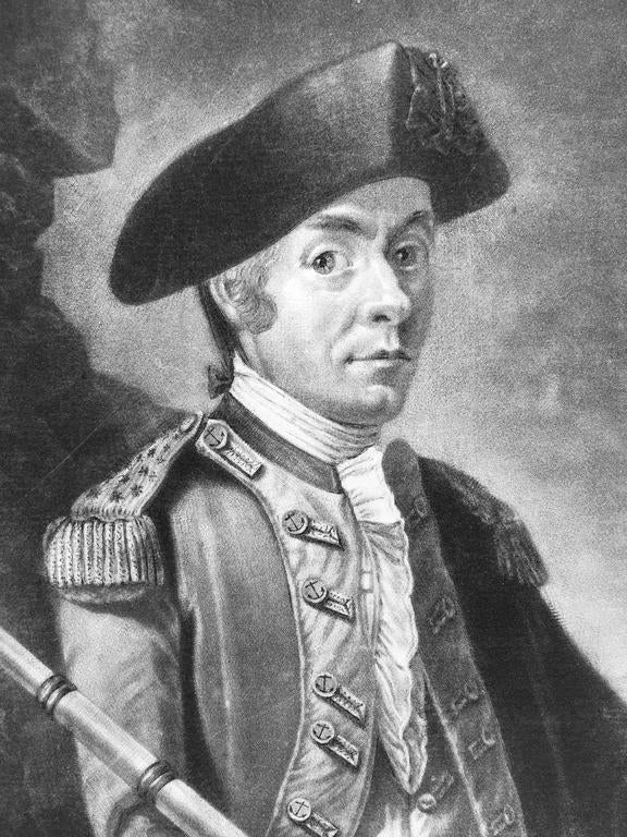 John Paul Jones Commander of a Squadron  -  13 Colonies United States...  For Sale 1