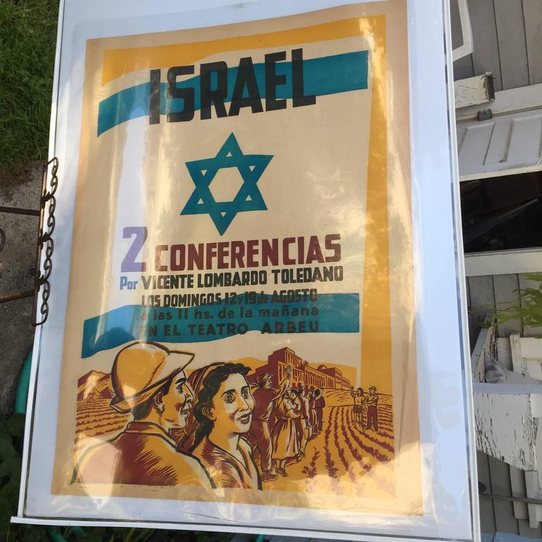 ISRAEL (1951 Mexican Homage Poster) For Sale 2