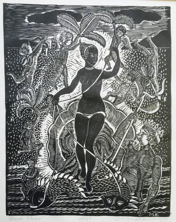 Margaret Taylor Goss Burroughs Figurative Print - BLACK VENUS