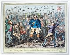 THE LAW'S DELAY....(IN READING THE RIOT ACT...) 1820