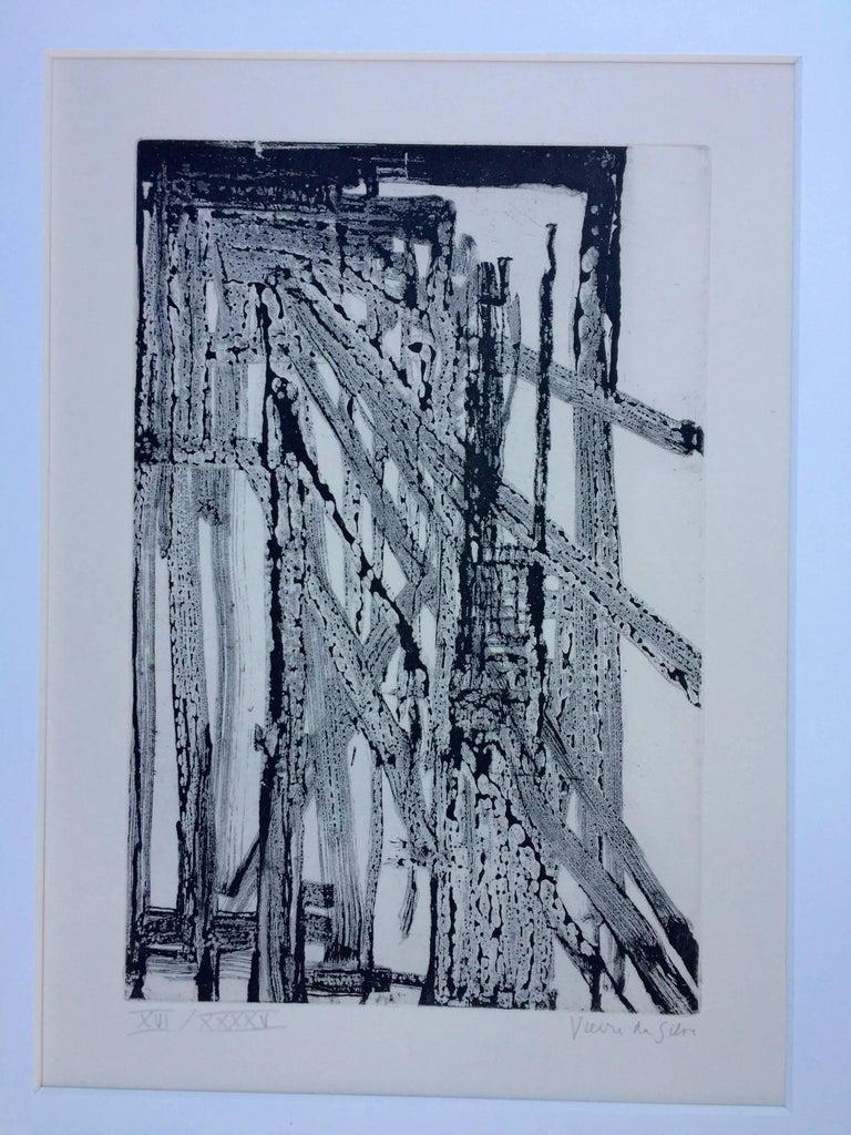 UNTITLED - Print by Maria Helena Vieira da Silva