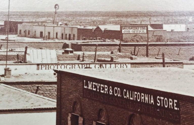 CITY OF TUCSON, ARIZONA TER. - Photorealist Photograph by Carleton Watkins