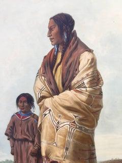 DAKOTAH WOMAN and ASSINIBOIN GIRL